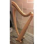 SOLD - 2nd Hand Salvi Titan 38 Strings Lever Harp
