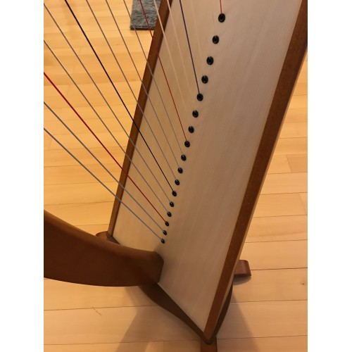 SOLD - 2nd Hand Camac Melusine 38 strings lever harp