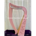 Harpmini Collection - 12 strings long neck harp with levers