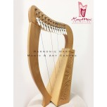 Harpmini Collection - 12 strings harp with levers