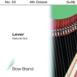 Bow Brand Lever Gut - 4th Octave D