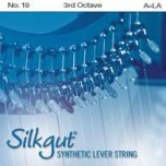 Silkgut Synthetic Lever String, 3rd Octave A