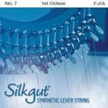 Silkgut Synthetic Lever String, 1st Octave F