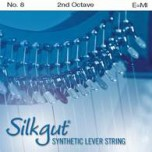 Silkgut Synthetic Lever String, 2nd Octave E